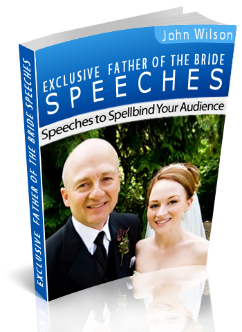 Father of the Bride Speech book